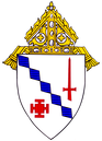 Coat of Arms for the Diocese of Birmingham in Alabama.